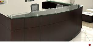 L Shape Reception Desk The Office Leader Contemporary Laminate L Shape Reception Desk In