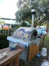 garden mosaic ideas pizza oven mosaic garden to table owairaka
