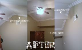 Crown Moulding On Vaulted Ceiling by Crown Moulding Irish Painting Bakersfield Painters