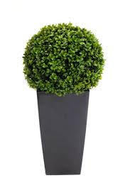 small potted artificial buxus from evergreen direct garden
