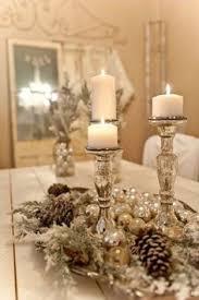 Silver Centerpieces For Table Adornos Para Centro Mesa De Navidad 2017 2018 Silver Ornaments