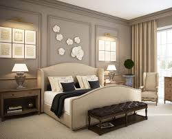 bedroom contemporary beige and black bedroom decoration using