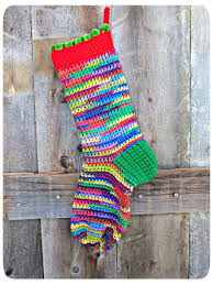20 free crochet christmas stocking patterns guide patterns