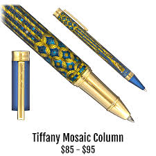the metropolitan museum of art tiffany mosaic column collection