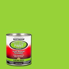 rust oleum automotive 1 qt sublime green auto body paint case of