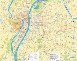 Lyon Metro Map by Lyon Maps France Maps Of Lyon