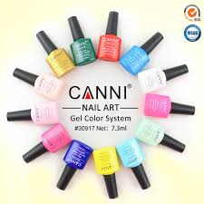 30917x canni nail art oem high quality 240 colors 7 3ml soak off