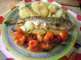 recette cuisine laurent mariotte recette de truite arc en ciel en papillote recette de laurent mariotte