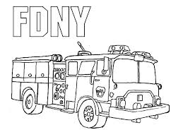 printable fire truck coloring pages coloringstar