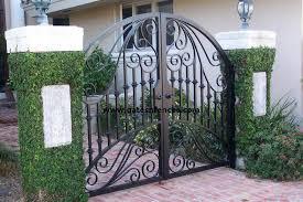 garden gates walk thru gates wrought iron or aluminum garden