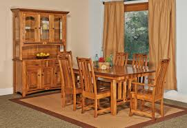 Mission Style Dining Room by Dining Room Furniture Amish Furniture Wana Cabinets Shipshewana In