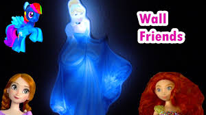 disney princess cinderella light up glowing glow in the dark room disney princess cinderella light up glowing glow in the dark room wall friends toy opening review youtube