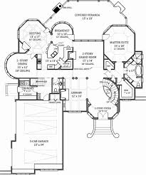 european house plan with 4 bedrooms and 4 5 baths plan 7805 1st floor plan
