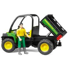 john deere gator xuv 855d with driver 02490 amazon co uk toys