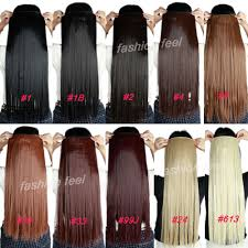 type of hair extensions aliexpress buy 4 medium brown 23 inches 3 4 clip