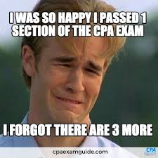 Cpa Exam Meme - sometimes big girls boys do cry but don t let it be because of