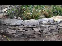 How To Build A Rock Garden Bed How To Make Or Build A Traditional Wall