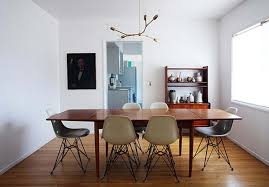 modern lighting over dining table dining room contemporary dining room with contemporary wooden iron