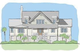Coastal House Plans Crested Ibis U2014 Flatfish Island Designs U2014 Coastal Home Plans