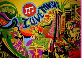 wall graffiti music club pune shraddha trivedi wall