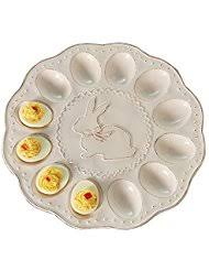 ceramic egg plate ceramic deviled egg plates serving dishes trays
