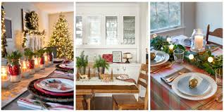 48 christmas table settings ideas pictures christmas decorations