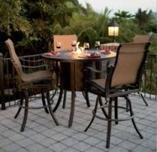 Bar Height Fire Table 53 Best Bar Height Patio Furniture Images On Pinterest Patios