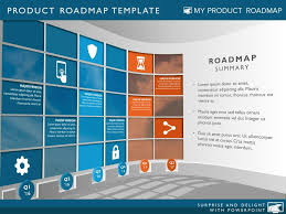 six phase business strategy timeline roadmap template roadmaps