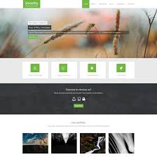 smoothy is free html5 responsive template with scrolling effect