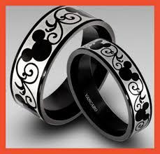 vancaro wedding rings vancaro s titanium disney inspired his hers rings disney s