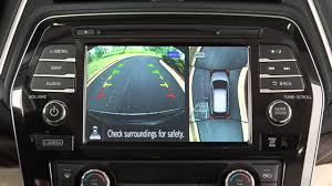 2016 nissan maxima youtube 2016 nissan maxima around view monitor with moving object
