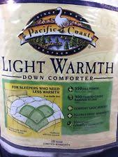pacific coast light warmth down comforter pacific coast hungarian white goose down comforter queen extra