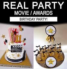Movie Themed Cake Decorations Movie Birthday Party Theme Ideas Simonemadeit Com