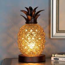 Pineapple Light Fixture Mercury Glass Tabletop Pineapple L From Collections Etc