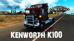 Kenworth K100 Interior Kenworth K100 Aerodyne Interior V1 0 For V1 0 0 American