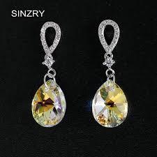 diy drop earrings sinzry sweety jewelry diy drop earrings 925 sterling silver