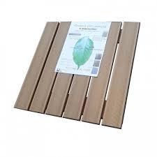 pedana legno pedana doccia in legno ecotech naturale cm 49 5 x 49 5 per piatti