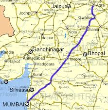 road map up national highway 3 india numbering