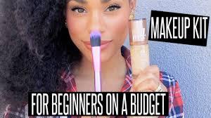 budget friendly starter makeup kit for beginners youtube