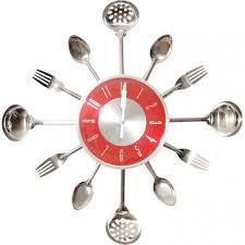 horloge murale cuisine horloge murale cuisine argent et taille unique achat vente