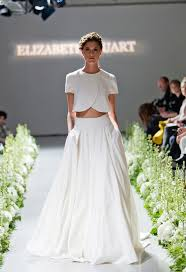 wedding skirt gorgeous crop top wedding dress inspiration bridal musings
