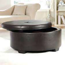 white ottoman coffee table cfee cfee round white leather ottoman
