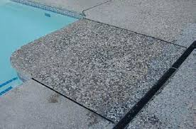 cleaning and re sealing exposed aggregate concrete decor