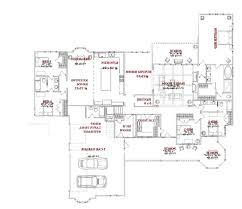 home design single story small house plan 04 dwg net cad blocks