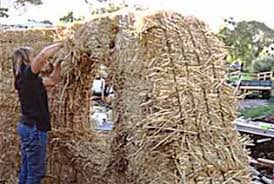 how to build a strawbale wall the food forest