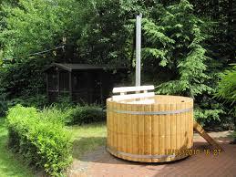 Wood Fired Bathtub Wood Fired Tub 1 7 Meter Spruce Internal Furnace