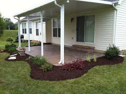 Simple Paver Patio Simple Paver Patio Planting Bed Traditional Patio St Louis