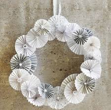 Christmas Decorations In White by Fresh And White Christmas Wreath Ornaments Foor Door