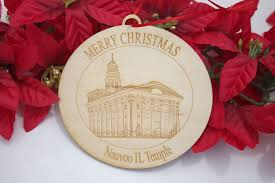 lds temple ornaments for wards and large groups small wooden