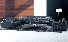 20 leather living room furniture set and how to care it
